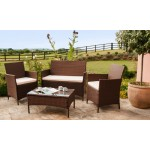 Rattan Wicker Outdoor Set/ Patio Garden Furniture- Sofa Set 1