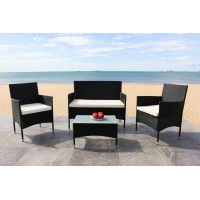 IPRO Poly Rattan Wicker Outdoor Set/ Patio Garden Furniture- Sofa Set 1