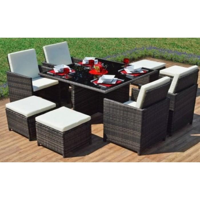 Malaysia PE Poly Rattan Dining set Cube set 44 : 5 700x700 from www.ipro24online.com size 700 x 700 jpeg 81kB
