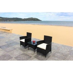 Rattan wicker outdoor set/ Patio Garden furniture  - Balcony Set 1