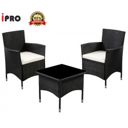 Rattan wicker outdoor set/ Patio Garden furniture  - Balcony Set 1