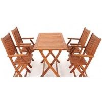 Solid Wood Outdoor Set/ Patio Garden Furniture-Sydney Set
