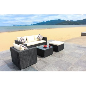 IPRO Poly Rattan wicker outdoor set/ Patio Garden furniture -Sofa Set 25
