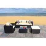 IPRO Poly Rattan wicker outdoor set/ Patio Garden furniture -Sofa Set 25