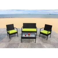 IPRO Poly Rattan wicker outdoor set, Sofa Set 0