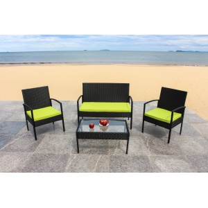 IPRO Poly Rattan wicker outdoor set/ Patio Garden furniture -Sofa Set 0