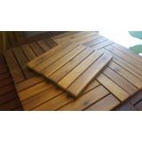 Solid Wood Floor Decking