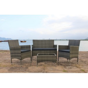 IPRO Patio Garden Furniture​- Sofa set 1 (GREY)