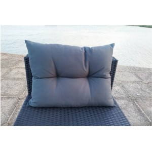 IPRO Poly Rattan wicker outdoor set/ Patio Garden furniture  -  Button Type Back Pillow