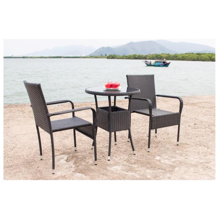 IPRO Poly Rattan Wicker Outdoor Furniture Set / Patio ...